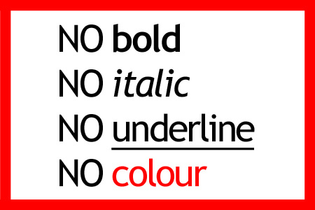 4-lines-of-text-NO-bold-NO-italic-No-underline-No colour