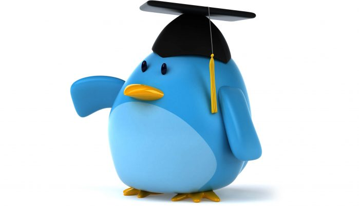 3D-rendered-blue-bird-wearing-mortarboard-hat