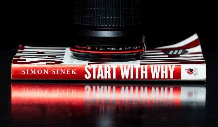 Side-profile-of-Simon-Sinek's-book-'Start-with-Why'