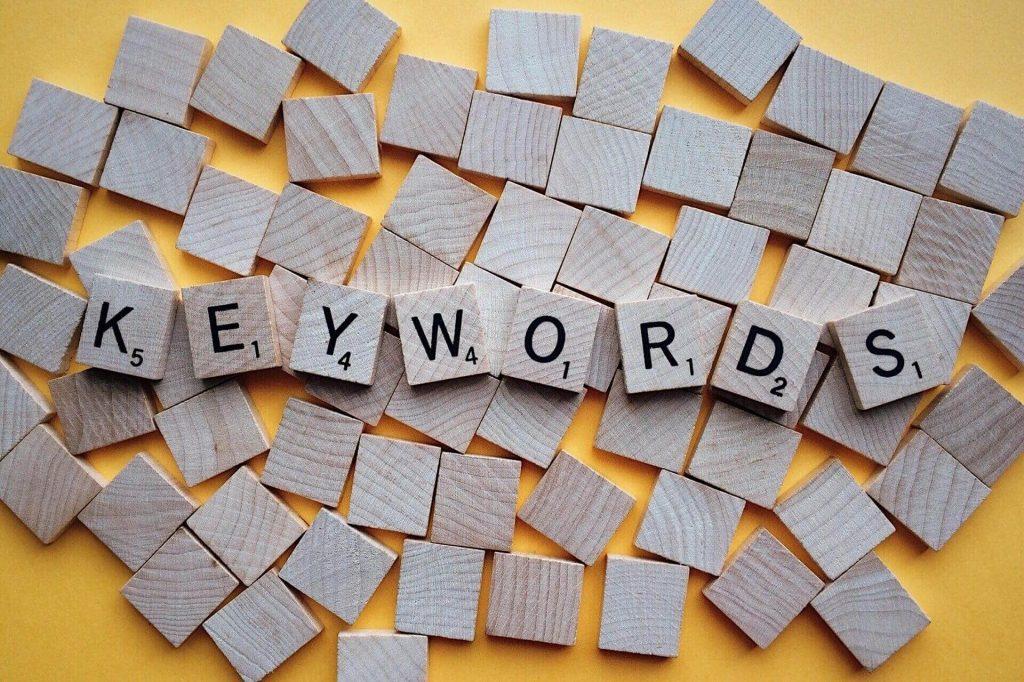 The-word-'keywords'-spelt-in-Scrabble-tiles