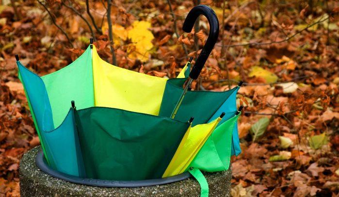 Multicoloured-umbrella-in-a-bin