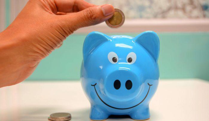 Blue-Piggy-Bank